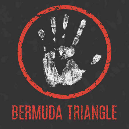 Warning vector sign of the Bermuda Triangle
