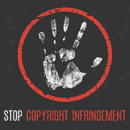 著作権侵害を停止します。