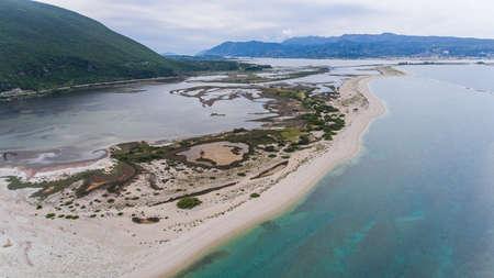 The Ionian coast near Levkas, Greece. Stockfoto