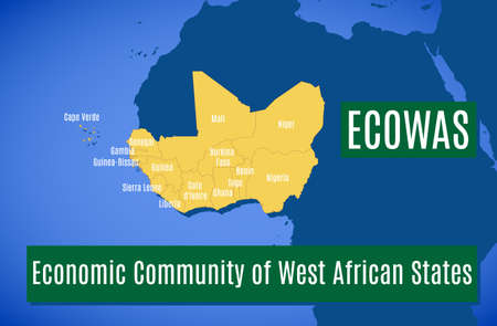 Member countries of the Economic Community of West African States (ECOWAS).