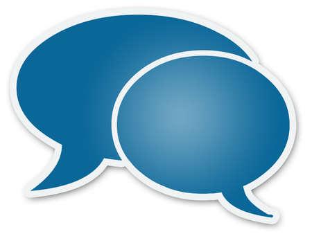 Chat Bubbles Stock Photo