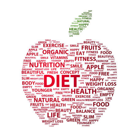 Most important diet related keywords photo