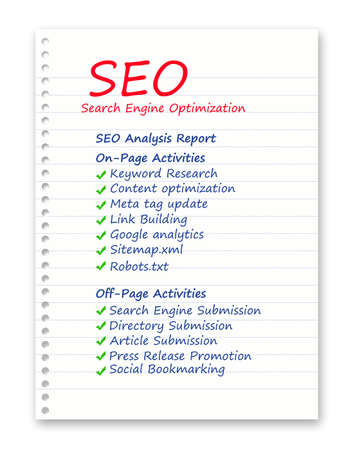 SEO related most important steps photo