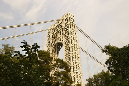 George Washington Bridge as seen from Fort Lee, New Jersey