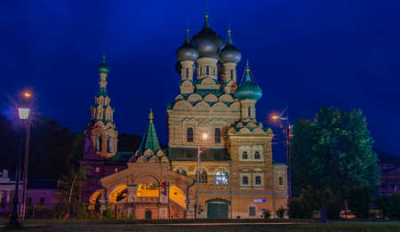 Historical architectural monument. A functioning Orthodox church.