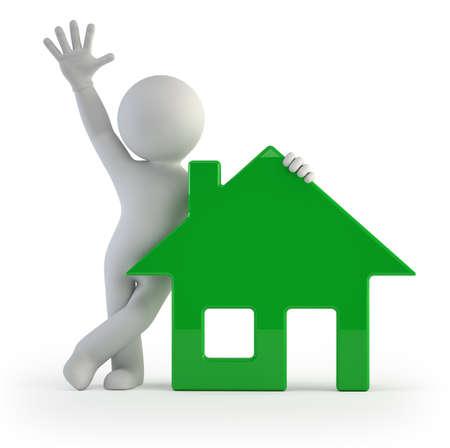 3d kleine mensen - mijn huis