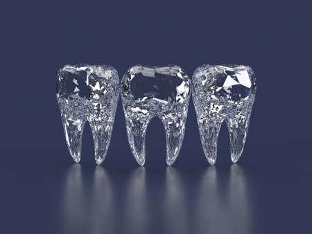 stomatology: diamond teeth