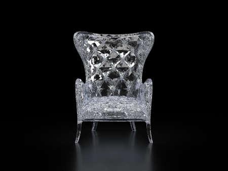 crystal chair luxury