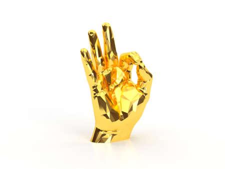 golden hand ok