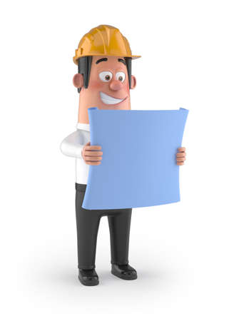 Builder with the Plan