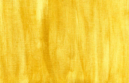Abstract handmade gold  background on canvas.