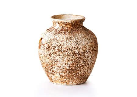 Vase, isolated on white. Stock Photo