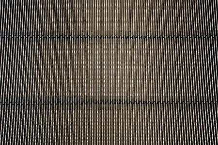 Metal iron background (Detail from escalator - texture) Standard-Bild