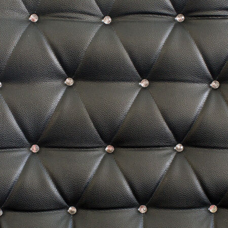 Black upholstery pattern with diamonds photo
