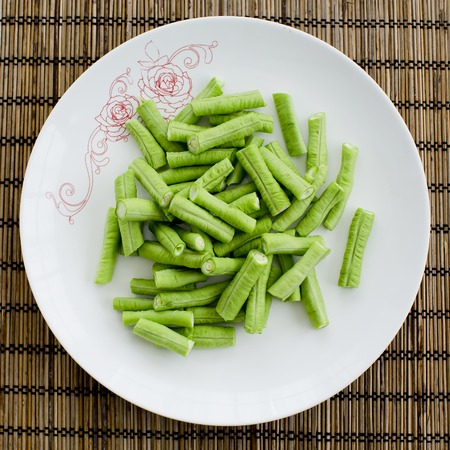 cow pea: green cow pea