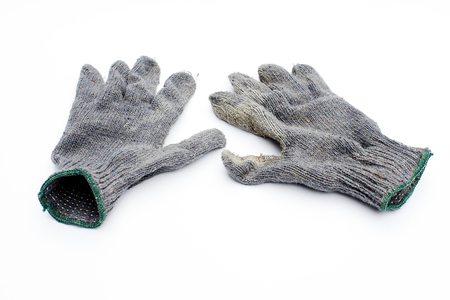 putty knives: gloves