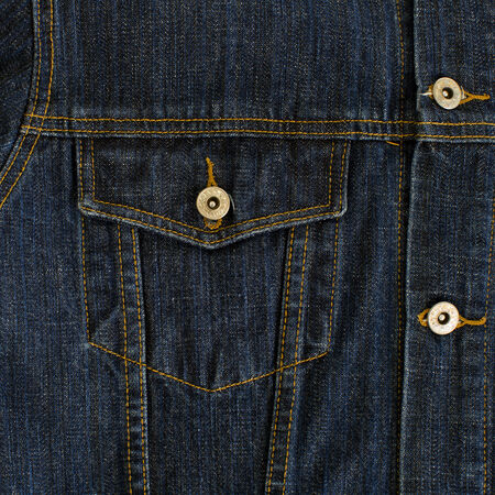 Jeans textile pocket photo