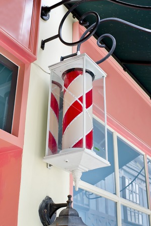 hair clippers: Classic Barber shop Pole