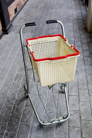 shopping grocery cart photo