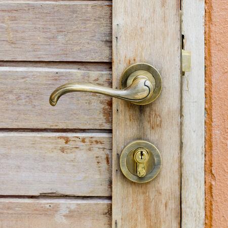 doorhandle: Old doorhandle