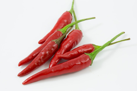 weight reduction plan: red hot chilli Stock Photo
