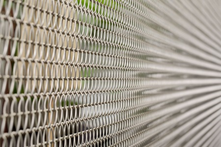 detain: Composition metal cage Stock Photo