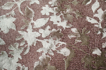 dirty carpet: Dirty floral seamless pattern on carpet, embroider design.