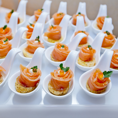 Finger Food in Cocktail-Party-