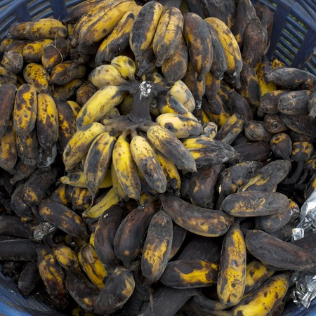 spoilt: Rotten banana