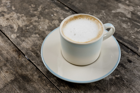 cafe latte: A cup of cafe latte