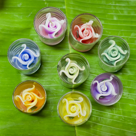 refreshed: candle shaped flowers for worship