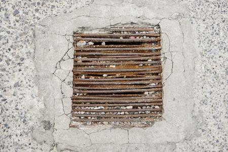 drain: Rust drain.