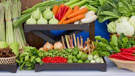 red onion: Tipo de verduras tailandesas establecidos en el estilo de la cocina tailandesa.