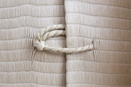 ship with gift: Rope with knot background texture