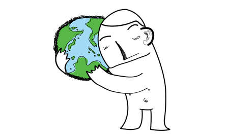 hugging the earth