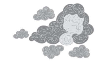dark cloud: Nube oscura abstracta