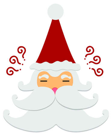 Santa Claus : Think and Think Illustration
