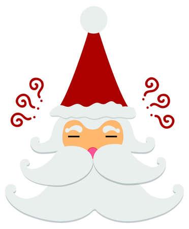 Santa Claus : Think and Think Stock Vector - 16504129