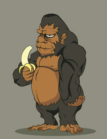 vector gorilla Vector