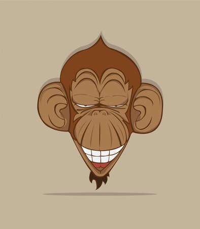 monkey vector Vector