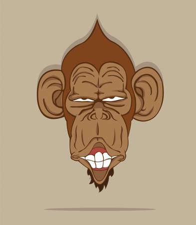 vecteur de singe
