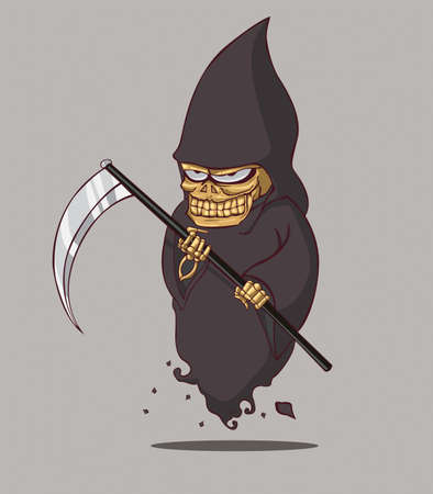 Death halloween Vector