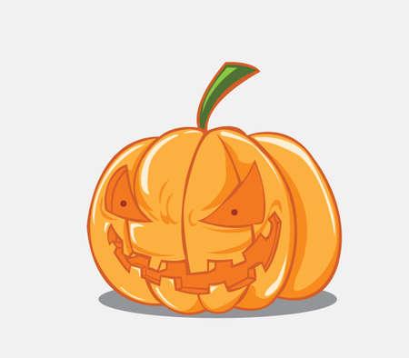 Illustration vectorielle citrouille d'Halloween Illustration