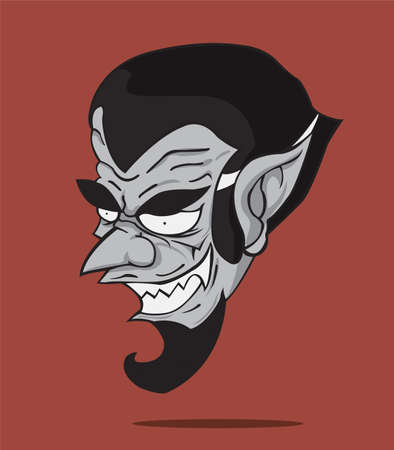 Dracula  Vector and illustration Vector