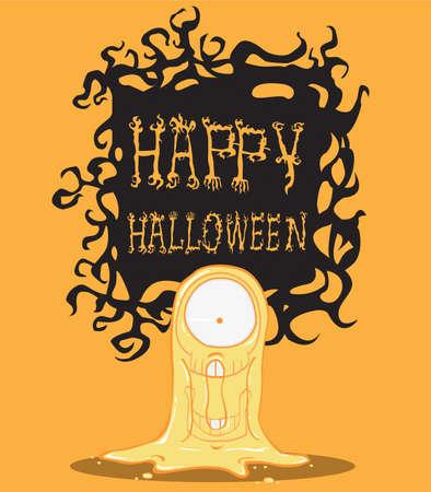 Ghost  Halloween Monster Vector