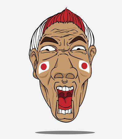 football fan: football fan from japan