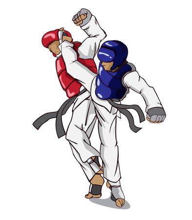 martial: Taekwondo. Martial art