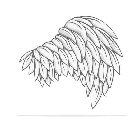 wings vector: Wings Vector design
