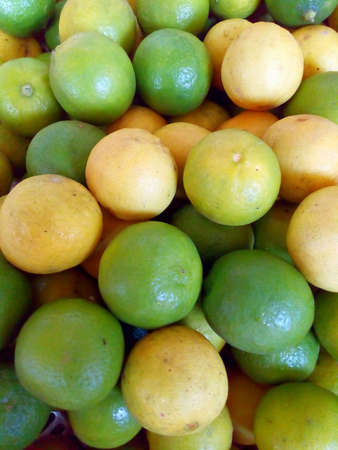 Lemon yellow and green Stock Photo
