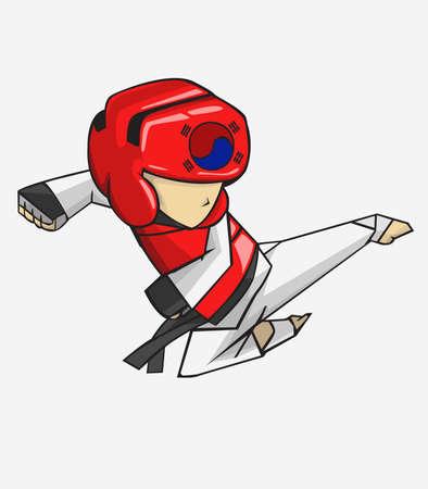to do: Taekwondo. Martial art